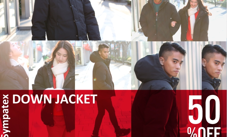 DOWN JACKET special price!